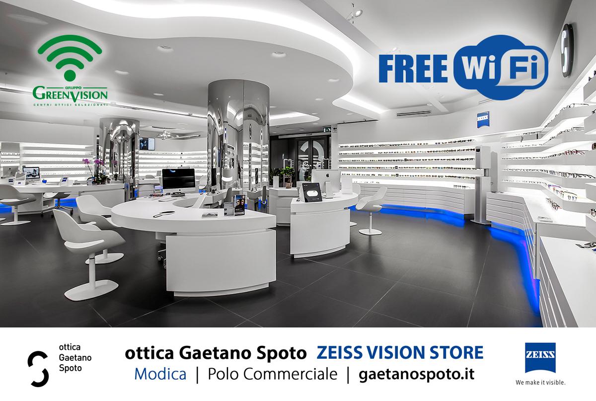 Free Wifi da ottica Gaetano Spoto